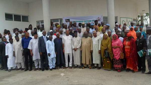 GOVERNMENT ACTORS AT THE OGP SENSITIZATION WORKSHOP